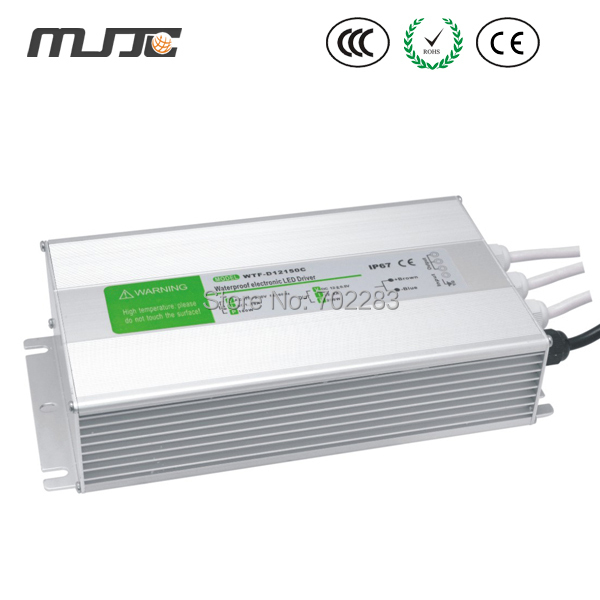 IP67 Waterproof Electronic LED Driver Power Supply Transformer Input AC90- 250V -  Output DC 12V dc power supply 36v 9 7a 350w led driver transformer 110v 240v ac to dc36v power adapter for strip lamp cnc cctv