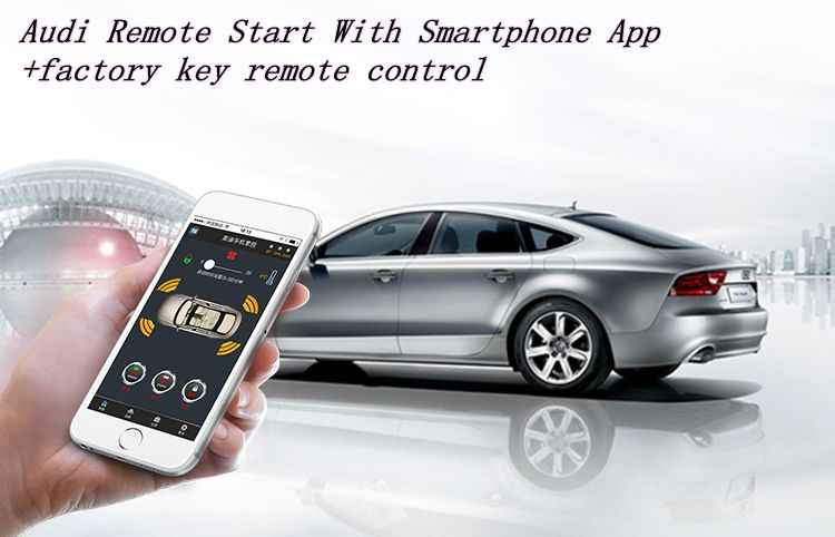 Remote Car Starter App >> Plusobd Engine Start Module Start Stop Car Remote Car Starter For Audi A6l A6l S6 Rs6 With Engine Start Stop No Key Broken