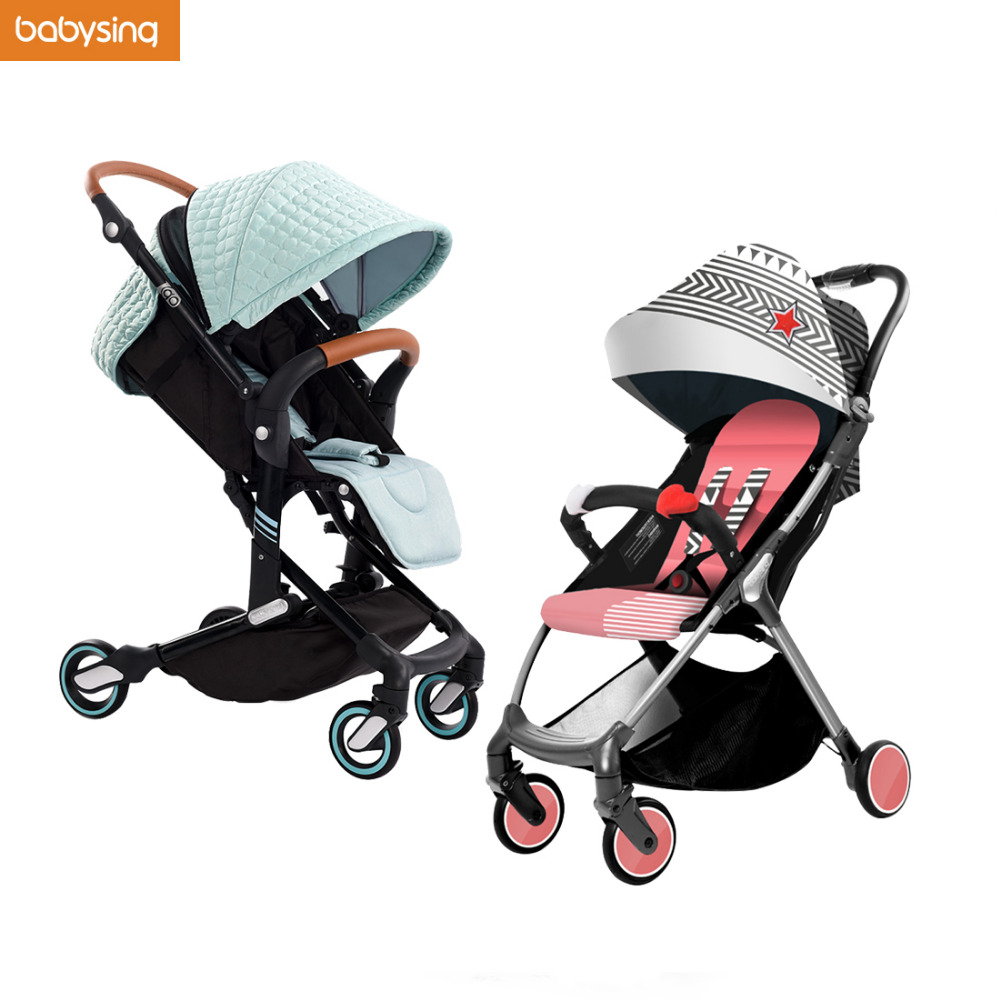ON SALE Babysing Cluster I-GO S-GO Push Car High Landscape Portable Lightweight Baby Strollers Foldable Baby Pram Pushchair