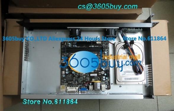 все цены на  New Ultra-short 1u computer case industrial computer case 250MM 1U computer case firewall computer case  онлайн