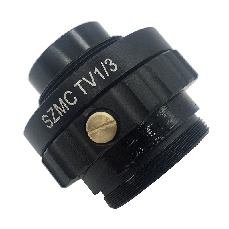 0.3X C Mount Adapter Reduce Lens1/3 CTV CCD Connecting with USB Camera SZMCTV1/3 for Trinocular Stereo Microscope цена