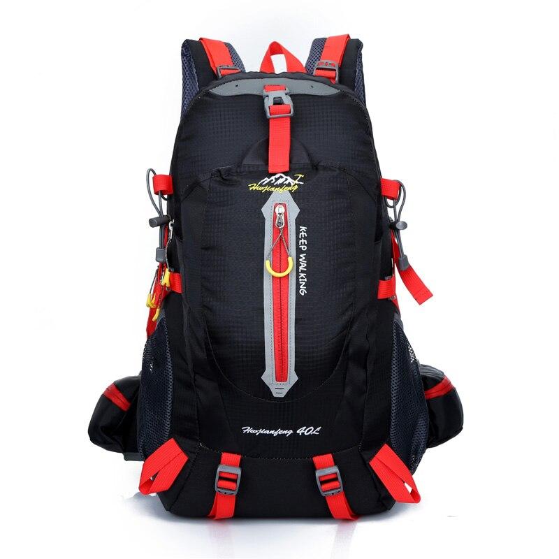 Hot Sale 40L Backpacks Waterproof Breathable Large Capacity Men Rucksack Women Casual Travel Sports Backpacks For Climber 40l waterproof women