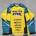 YETI ALDER Downhill Cycling Jerseys Custom Cycling DH Downhill MTB/BMX Jerseys 2017 new color Motorcycle Motocross Clothing