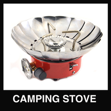 Portable Collapsible Windproof Camping Lotus gas stove