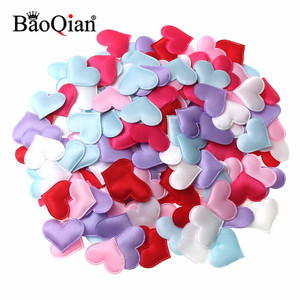 100Pcs 1.4/2/2.5/3.2cm Sponge Heart Shaped Confetti Throwing Petals Decor For Wedding Lover's Gift Home Decoration