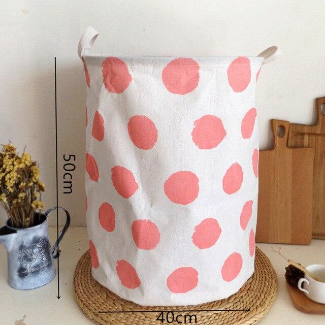 Large Size Foldable Cloth Sundries Storage Baskets Dirty Clothes Storage Baskets/bag Toy Storage Baskets Laundry Bag