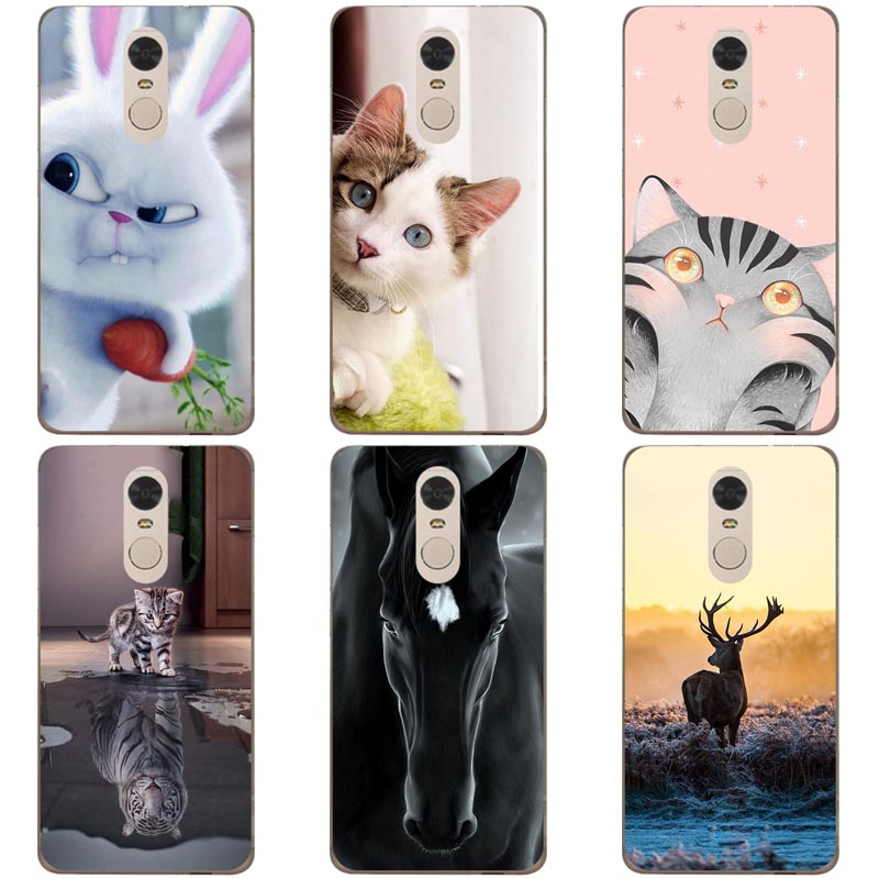 Cute Animal Printing Case For <font><b>Meizu</b></font> <font><b>M6T</b></font> <font><b>M811H</b></font> <font><b>Meizu</b></font> 15 Lite M15 Cover Relief Cartoon Design Funda Coque For <font><b>Meizu</b></font> 16th 16 Plus image