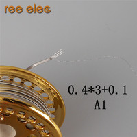 REE ELEC A1 Heating Wires High Density 3 Core Clapton Heating Wire For Rebuildable RDA RTA Atomizer DIY Coils Make Clapton Coil