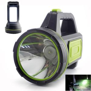 Image 1 - גבוהה כוח LED פנס USB נטענת פלאש אור לפידים מובנה סוללה צד אור לדיג חיצוני קמפינג Protable