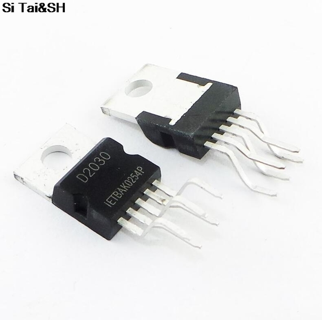Circuito Integrado : Circuito integrado de amplificador de audio d a d ab a
