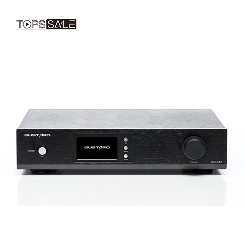 Unterhaltungselektronik Gustard Dac-x22 Es9038pro I2s Xmos Hifi Dac Pcm384k Dsd512 Dop Decoder 110 V-240 V