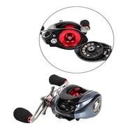 Magnetic Brake Wheel Fishing Bait Casting Reel Left Right Hand with One Way Clutch Trulinoya DW1000 10 plus 1 BB Ocean Lake