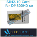 2.10 cartão sim para DM 800se, Sr4, Dm800se com wi fi por satélite localizador. Bootloader original com frete grátis