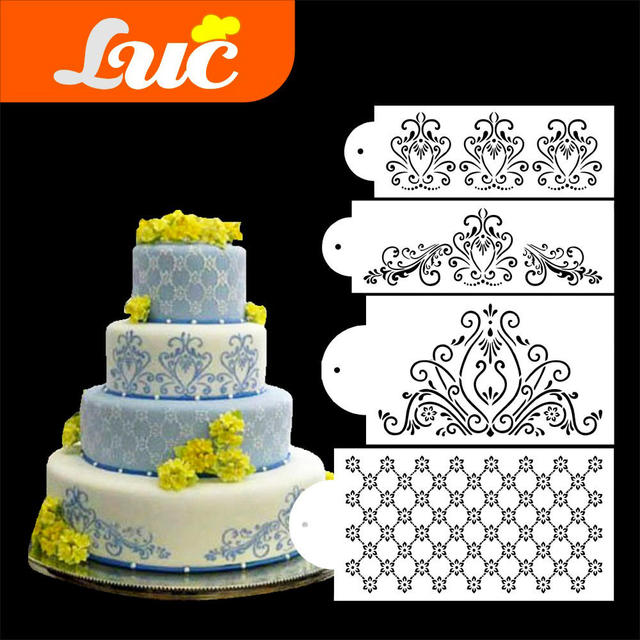 LUC Quality Products Professional Cake Decorating Tools Princess ...