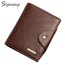 Men's Passport Wallet Best Leather High Capacity Men Wallets High Quality New Fashion Man Coin Purse Card Holder Bags