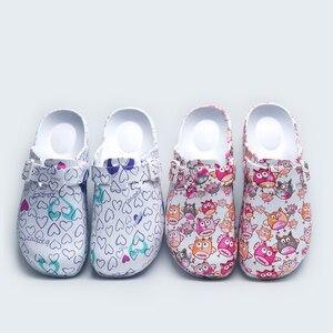 Image 1 - Ultralite скраб тапочки медицинские башмаки хирургические Босоножки кормящих Сабо; Нескользящие домашние тапочки Токио супер сцепление рабочая обувь для медсестер;