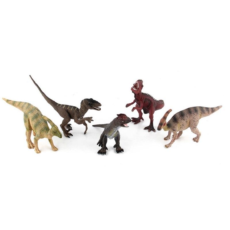 5 Style Classic Jurassic World Dinosaur PVC Action Figure Model Toy Movie Jurassic World Dinosaur Collection Brinquedos Gift classic world классический самолет 27 деталей