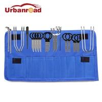 Urbanroad 20Pcs Set Car Door Clip Panel Radio Removal Tool Plastic Auto Car Dash Audio Removal