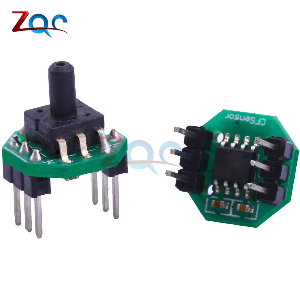 DC 0.5-4.5V Gas Placement Machine Pressure Sensor Transmitter Module Vacuum Negative Pressure -100 To 0kPa Oxygen Alcohol Tester