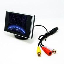 Автомобильный Цифровой 3.5 «TFT LCD автономный Обратный Монитора Автомобиля для DVD VCR VCD Резервную Камеру № J-1308