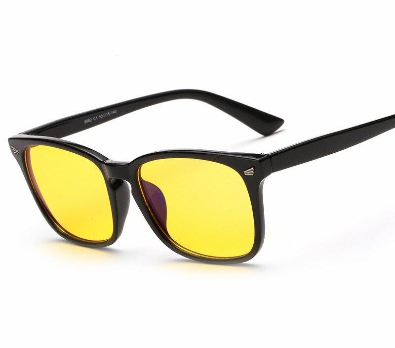 Anti-blau Rays Brillen Computerschutzbrillen Jungen Mädchen Gaming Gläser Uv400 Strahlenresistente Frau Männer Pc Lesen Eyewear Big Reine WeißE