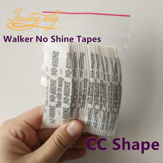 36pcs Bag Walker No Shine Tape Double Side Adhesives Strong Tapes