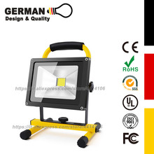 30W LED Work Light (200W Equivalent), Waterproof Flood Lights, Stand Industrial Working Light for Workshop, Construction Site
