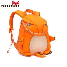 Kids backpack toy Waterproof 3D Cartoon animal backpack Dinosaur schoolbag kids customes for boys Gifts trolley bag school