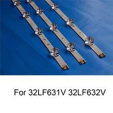 3 Piece/Lot Brand New LED Backlight Strip For LG 32LF632V 32LF631V TV Repair Strips Bars A B TYPE 6 Lamps Original