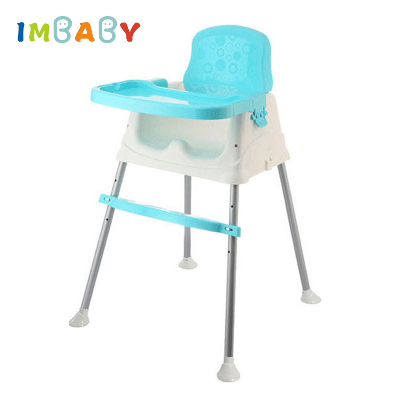 IMBABY Baby Dinner Table Detachable Feeding Chair Portable Chair Adjustable Folding Chairs Kids Highchair Seat Baby Eating Seats new baby dinner mat eating chair seat pad cover waterproof highchair bumper pad place mat preventing baby from throwing food bib