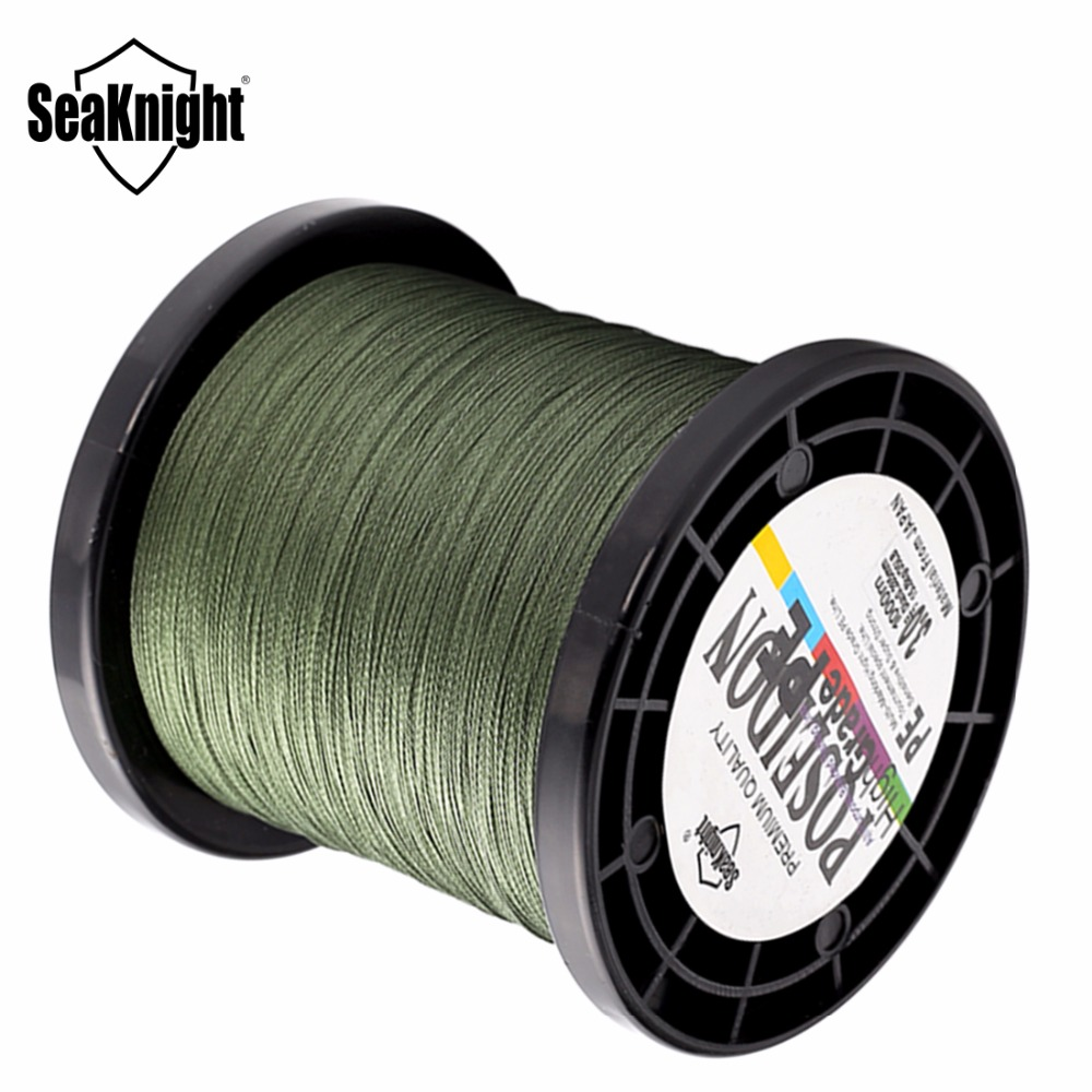 Seaknight brand 1000m 4 strands fishing line extreme for Fishing line brands