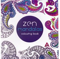 128 Pages Mandalas Coloring Book For Adults Children Relieve Stress Graffiti Painting Drawing Flower Garden Art