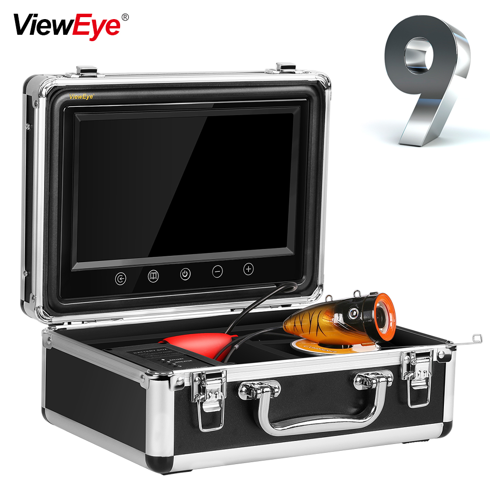 ViewEye VWE-PLC90W / Rシリーズプラスチックシェルフィッシュファインダー水中釣り9