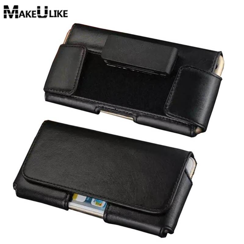 9b47e8e43ff2 Makeulike вращающийся зажим для ремня чехол для Sony Xperia Z3/Z4/Z5/Z5  Premium/Z6/ m4/M5/e4/C3/C4 Универсальный телефон Сумки крышка