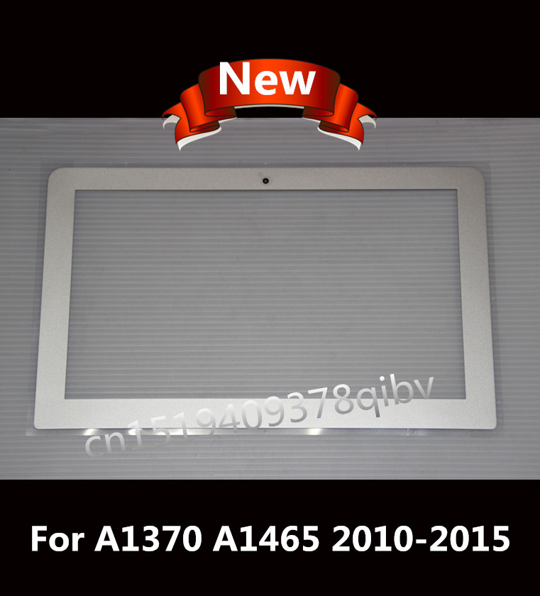 New Front Bezel For MacBook Air 11.6 A1370 A1465 LCD Screen / Display Front Bezel Cover 2011 2012 2013 214 2015 new laptop lcd display front screen back cover bezel