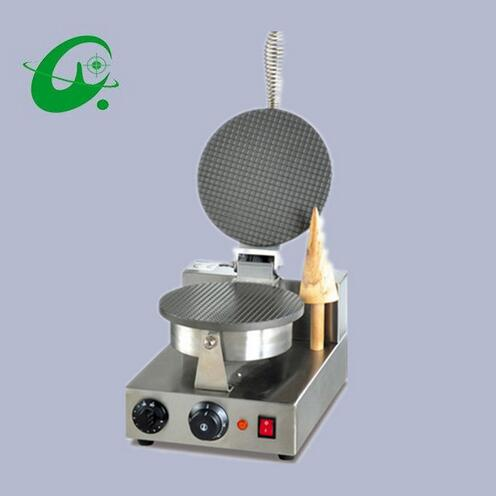 Single head Cone Baker Ice cream leather machine Ice Cream Paper Roll Maker machine