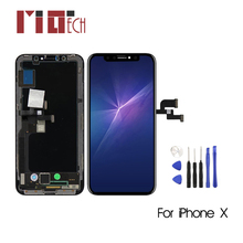 For iPhone X LCD Display OLED Touch Screen Digitizer Full Assembly Replacement OEM Premium Super AMOLED With Gifts AAA Quality