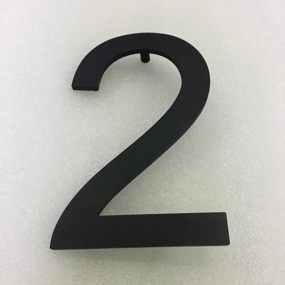 art personnalise moderne logo bricolage en fer forge artisanat maison numeros hotel maison porte en metal chiffre autocollant plaque signes adresse