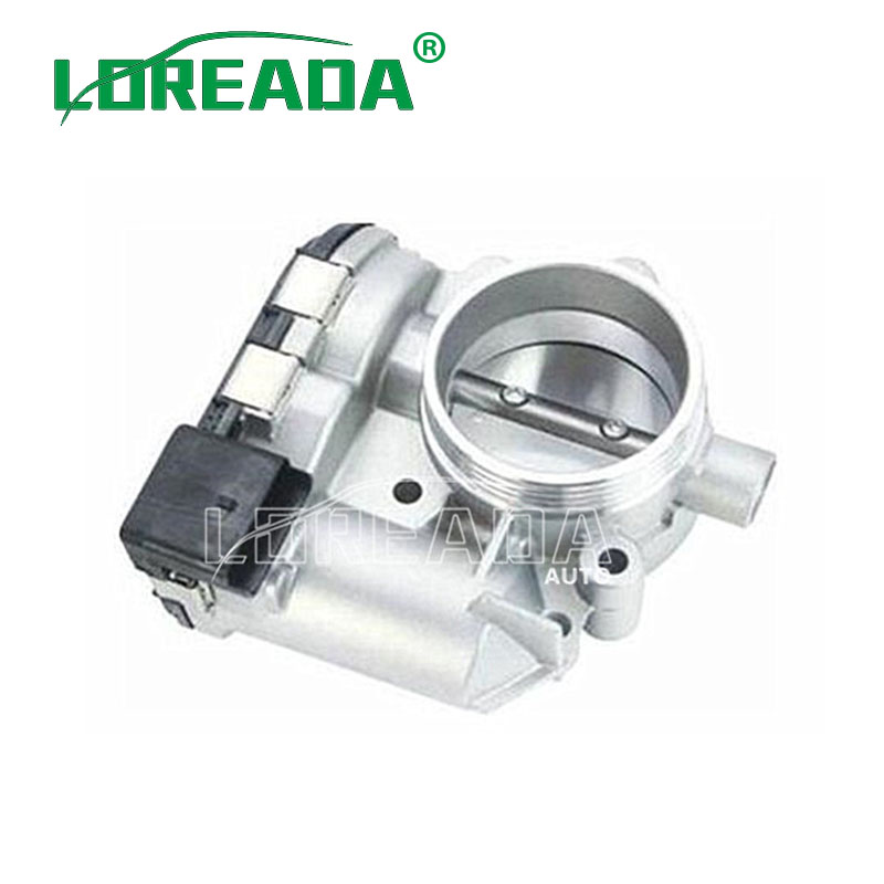 LOREADA Throttle Body Assembly For PEUGEOT 307 16V 1 6L DPCAZQ 008656980  0280750539 OEM QUALITY FAST SHIPPING