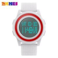 SKMEI Watch Men Women LED Electronic Digital Wristwatches Fashion Casual Ultra Thin Sport Watches Outdoor Women