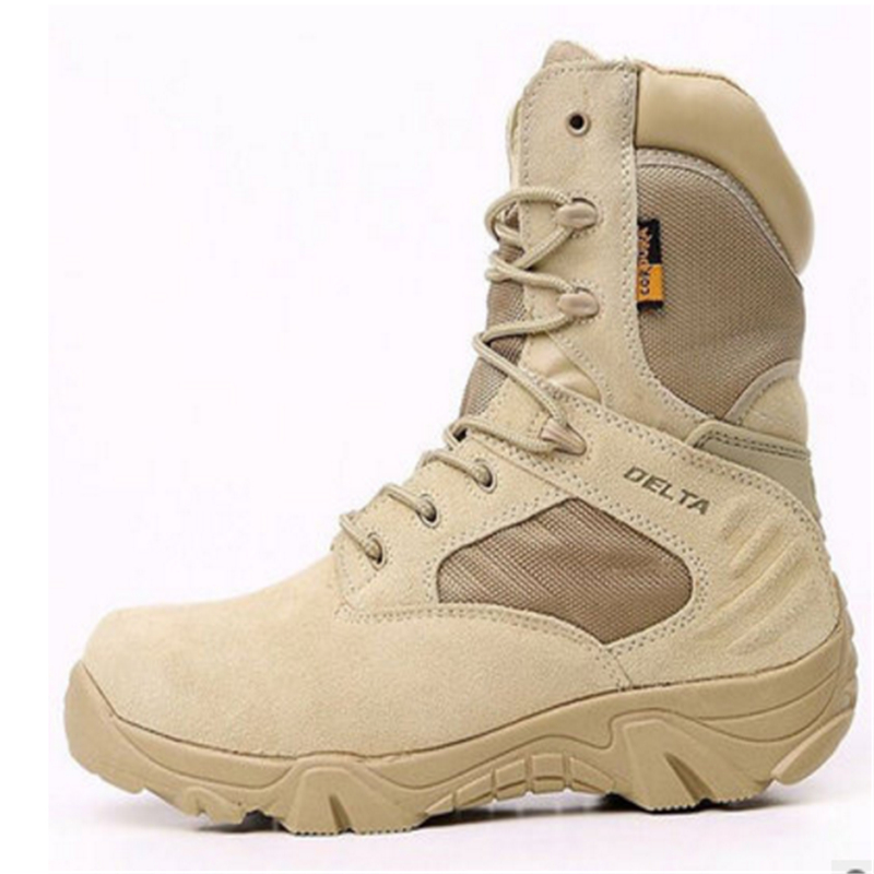Men Winter outdoor military boots mens special forces combat boots tactical boots desert boots Delta high to help wear militar Men Winter outdoor military boots mens special forces combat boots tactical boots desert boots Delta high to help wear militar