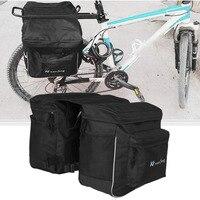 Outdoor Cycling Pannier Bag Bicycle Bag Unilateral Multifunction Bag Waterproof Large Capacity MTB Bike Rear Rack