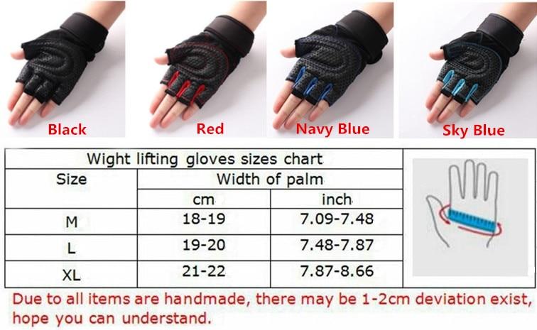 M-XL Gym Gloves 5