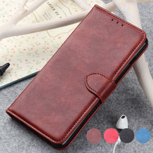 Luxury PU Leather Wallet Case for OnePlus 7 Pro Cases Wallet Flip Cover Buckle for One Plus 7 Fundas