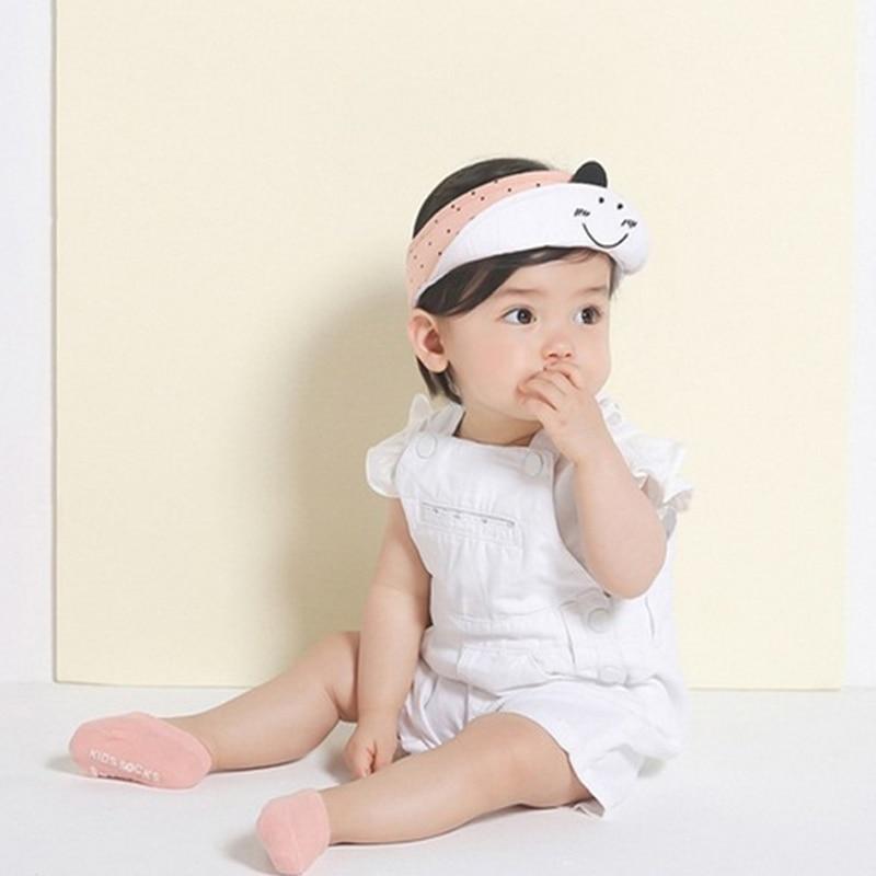 5pairs/lot High Quality Korean Children's Invisible Boat Socks Baby Non Slip Socks Cotton Sock for Girl and Boy 4