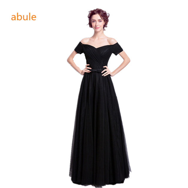 differently 681f3 7559c US $62.0 |Abule 2017 estate nero sweetheart increspato Abiti lunghi Da Sera  Abito Del Partito Su Ordinazione Abiti Da Cerimonia Robe De Soiree ...