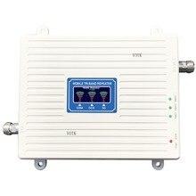GSM مكرر إشارة موبايل ثلاثي العلامة التجارية إشارة الداعم 2G 3G 4G 900/1800/2100MHZ مكبر صوت أحادي