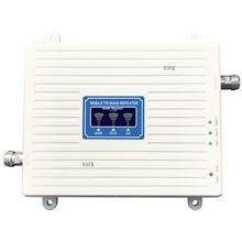 GSM sinyal tekrarlayıcı mobil Tri marka sinyal güçlendirici 2G 3G 4G 900/1800/2100MHZ sinyal amplifikatörü