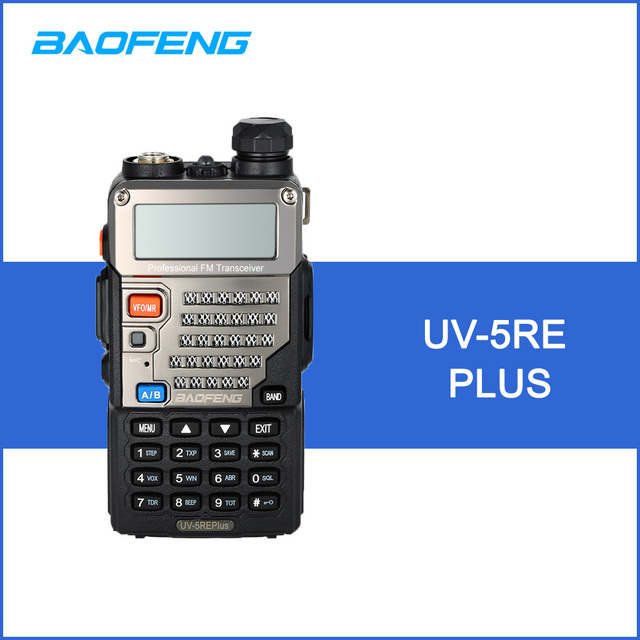 Baofeng uv-5re плюс рации 128ch двухдиапазонный УКВ 136-174 мГц и UHF 400-520 мГц трансивер двухстороннее Радио Портативный переговорные