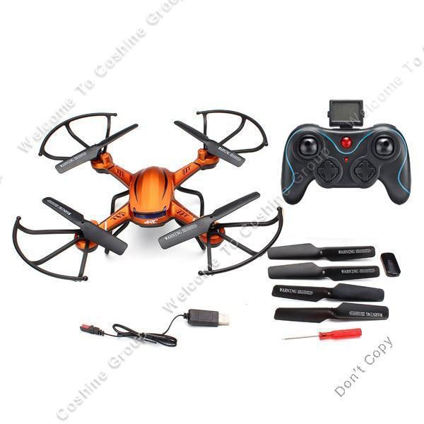 Free Shipping JJRC H12C Drone RC Quadcopter Airplane Toy Auto Return Without Camera